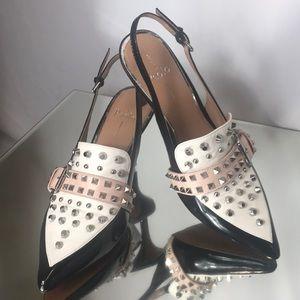 Linea Paolo slingback studded shoes